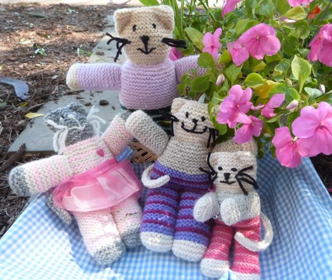 Knit Kitties Group photo
