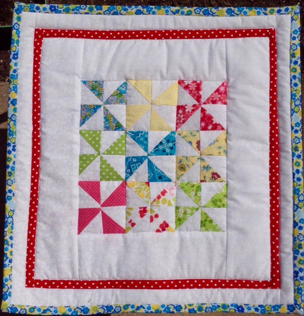 BabyDoll Quilt Pinwheels