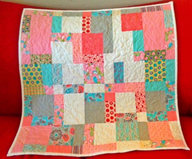 MQG baby blanket