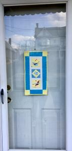Quilted Door Hanging