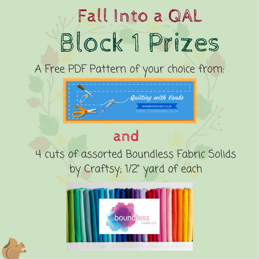 Fall Into a QAL Block 1  prize