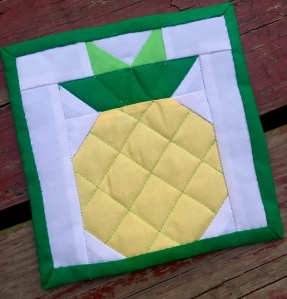 Quilted Pineapple Block