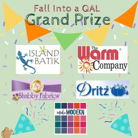 #fallintoaqal Grand Prize