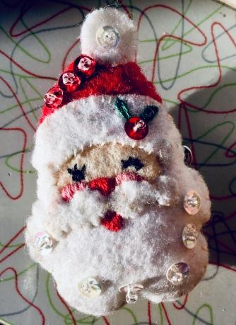 Bucilla felt Santa