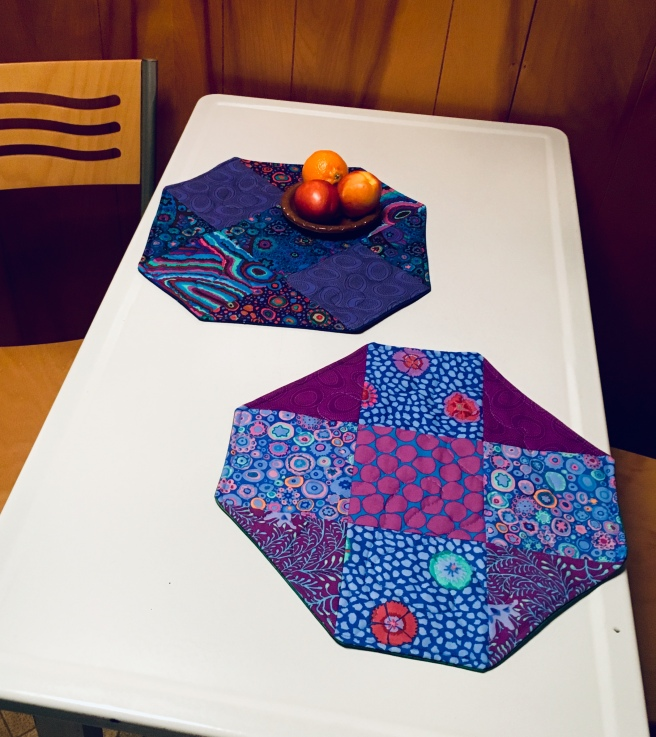 Octagon Quilted Placemats