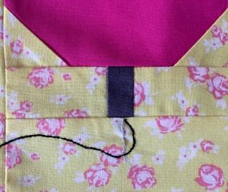 Sewing Machine Block detail