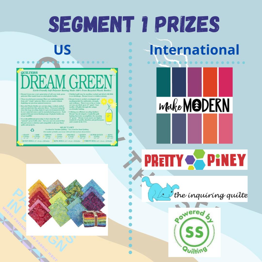 Seg 1 Prizes #qalbythesea